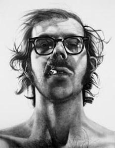 Early self portrait, 1968